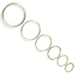 Thin Metal 0.5cm Wide Cock Ring