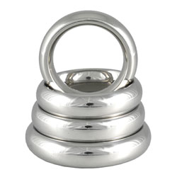 Metal Donut cockring